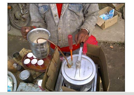 Desi Jugaad for making Coffee