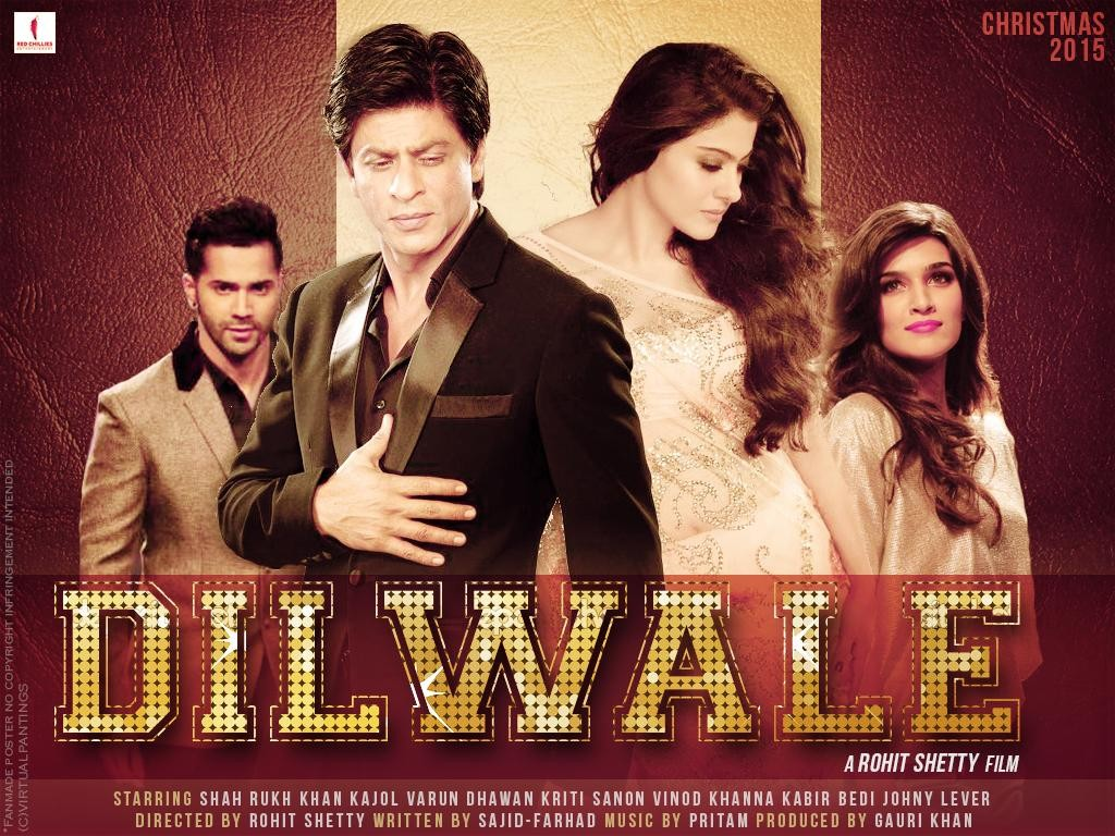 Dilwale Day 8 Collection