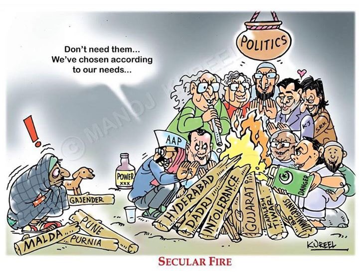 True Picture of Secular Media of India