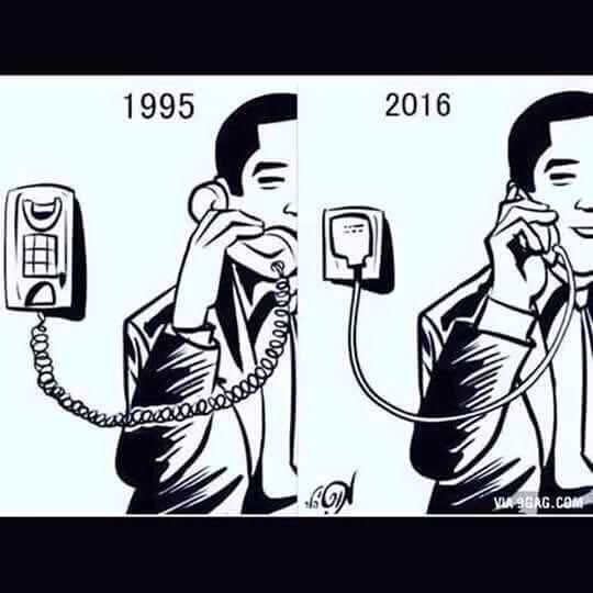 Phone - Then and Now