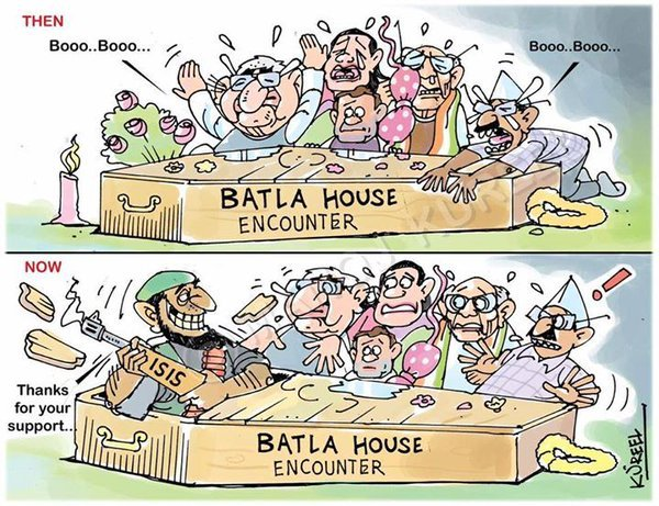 Secular Tear for Batla House Encounter