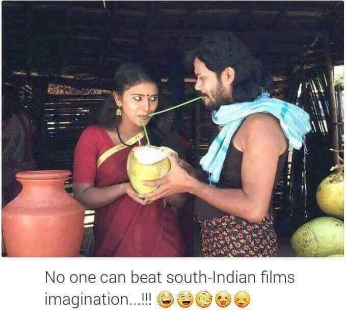 Imagination in South Indian Movie