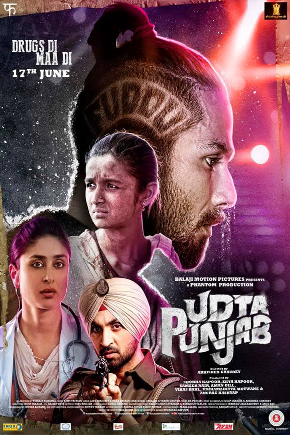 Udta Punjab Registers Drastic Fall in Second Weekend
