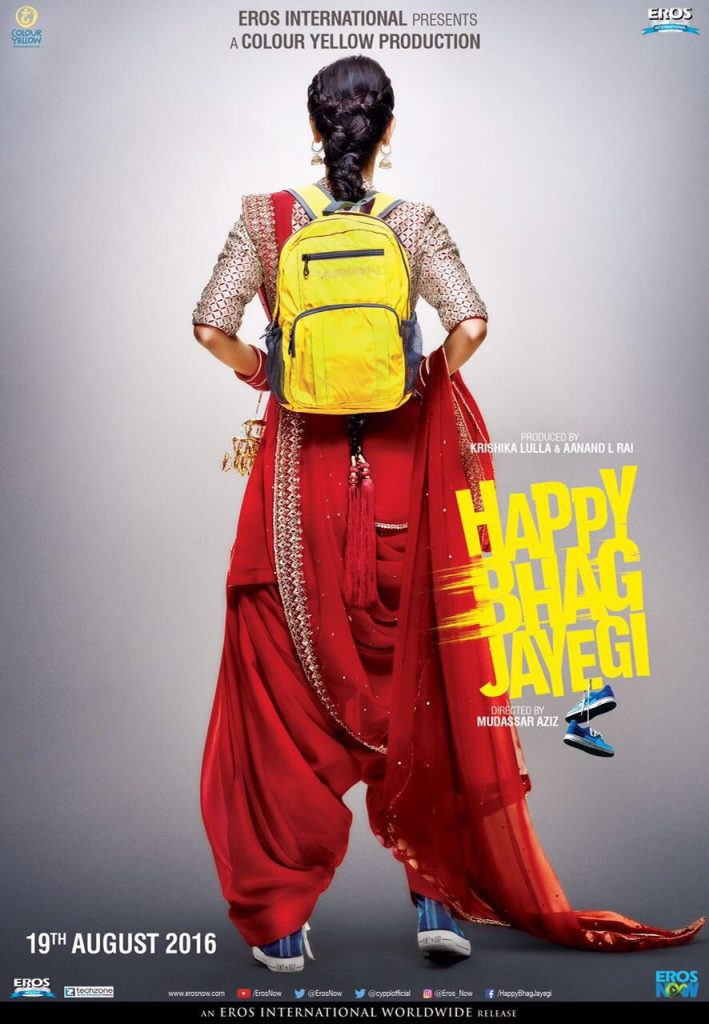 Teaser Poster of Happy Bhag Jayegi