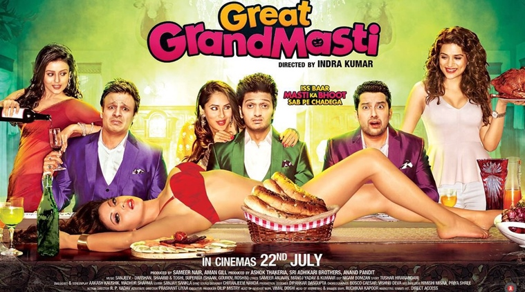 Great Grand Masti Performs Badly at Box Office