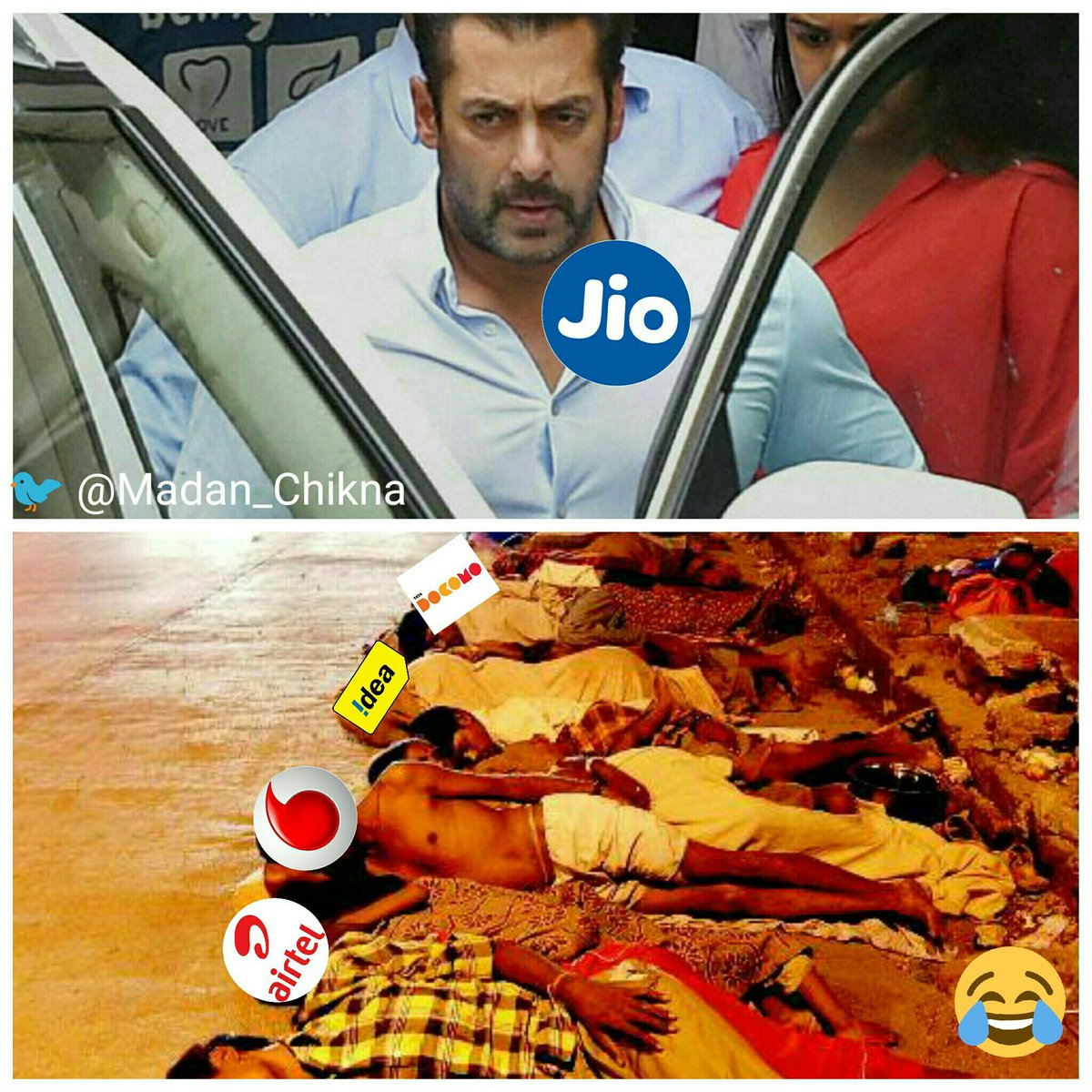 Reliance Jio Vs Others
