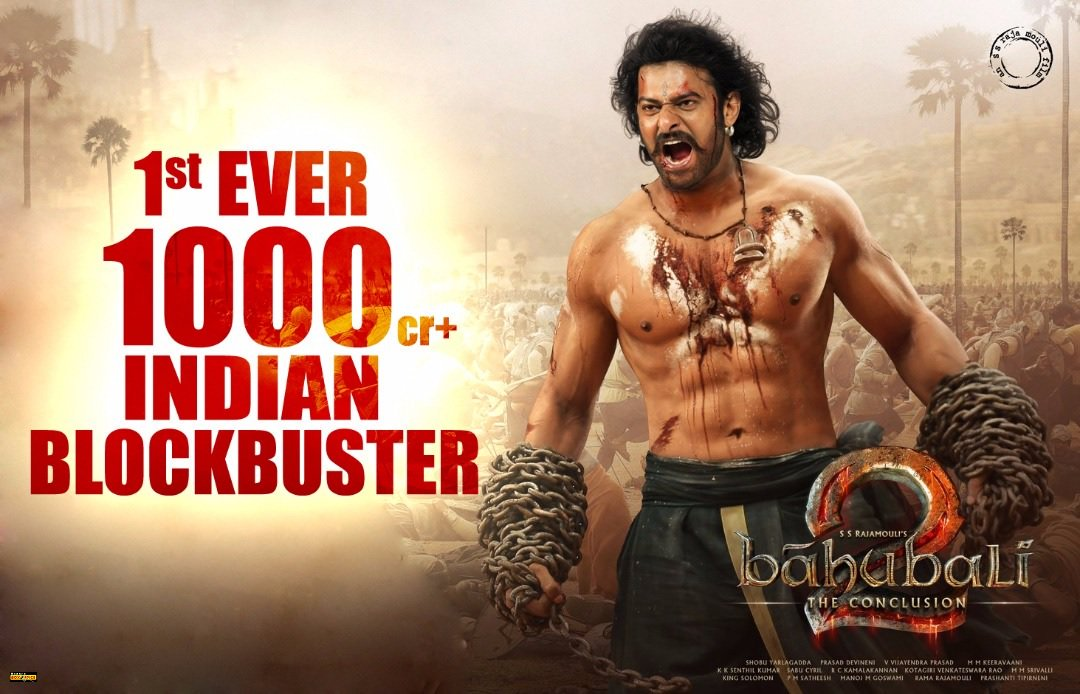 Bahubali 2 – The Conclusion Scores 1000 Crores in 9 Days