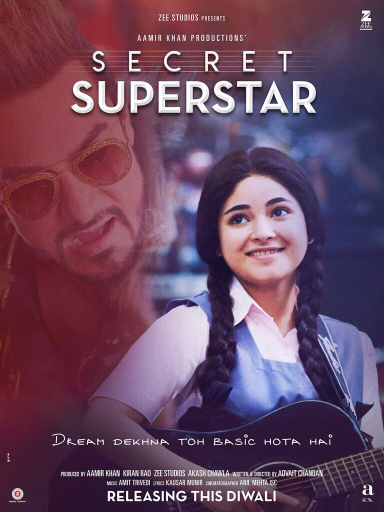 Secret Superstar Official Trailer