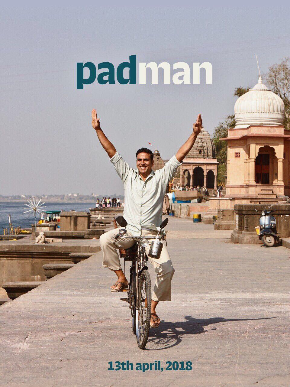 First Look Poster of Movie 'Padman'