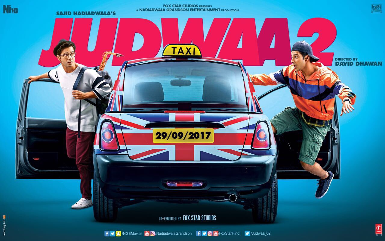 First Look Poster of Varun Dhawan's Judwaa 2