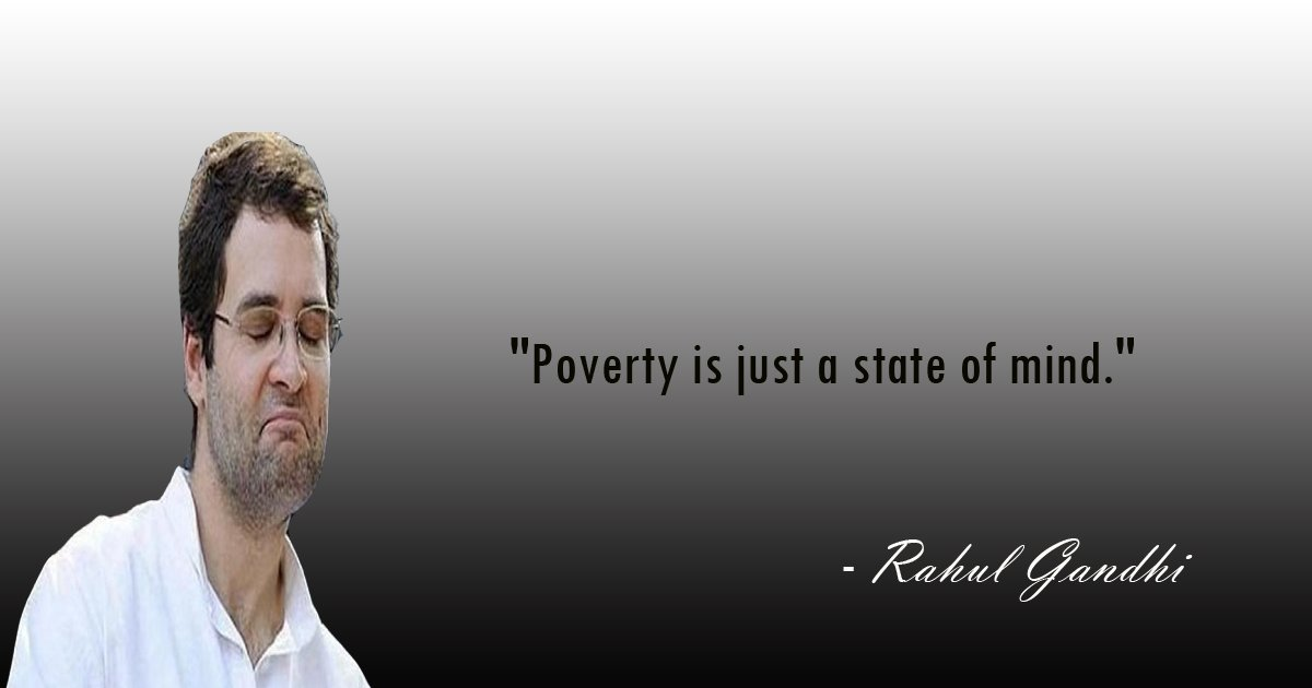 Funniest Quotes of Rahul Gandhi