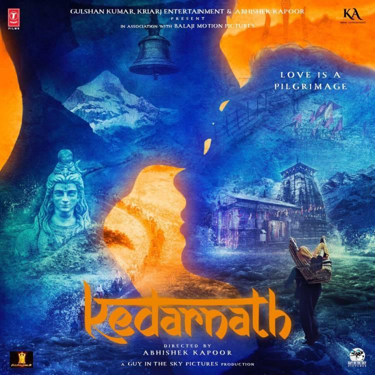 First Look Poster of Kedarnath