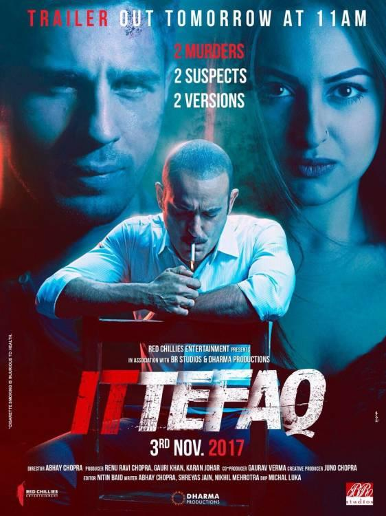 Posters of Movie Ittefaq