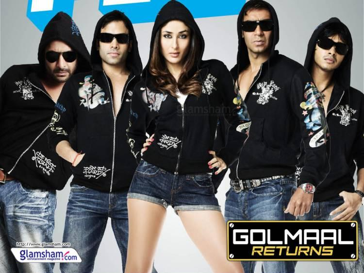 Golmaal Returns Scores a Century in Just 4 Days
