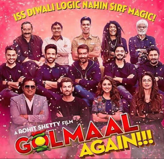 Golmaal Again Fifth Week Box Office Collection