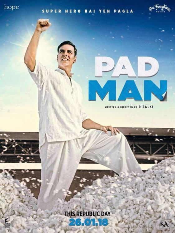 Poster of Upcoming Film Padman