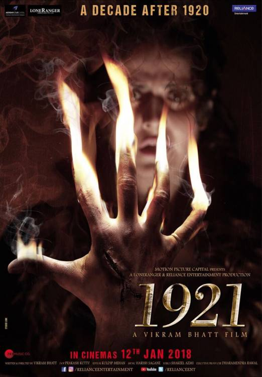 First Look Poster and Trailer of Vikram Bhatt's 1921