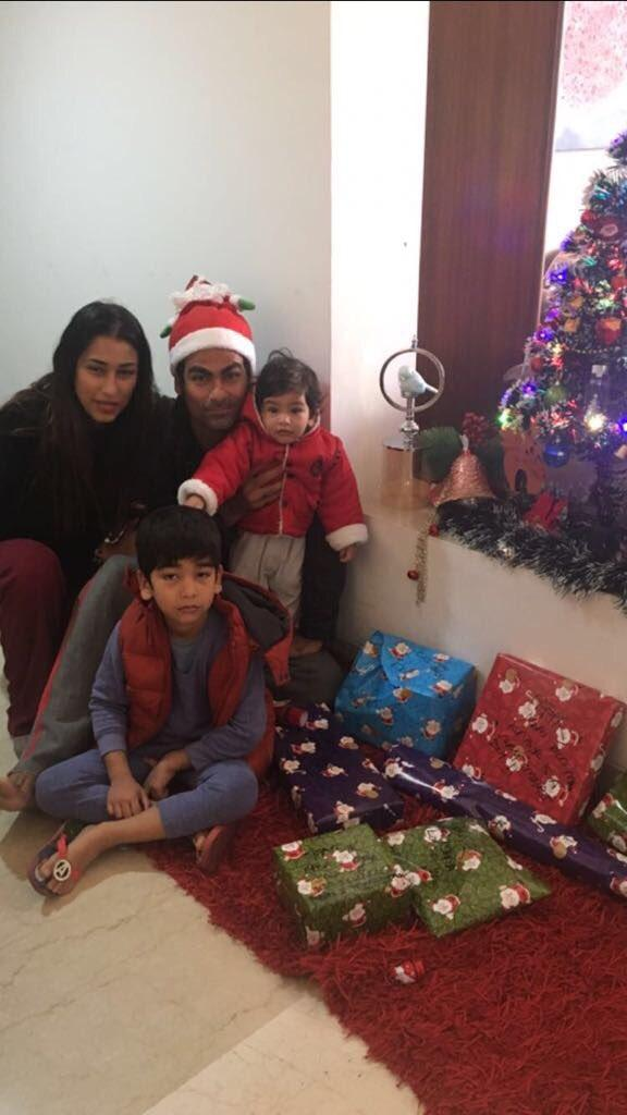 Mohammad Kaif Gets Trolled for Christmas Photo