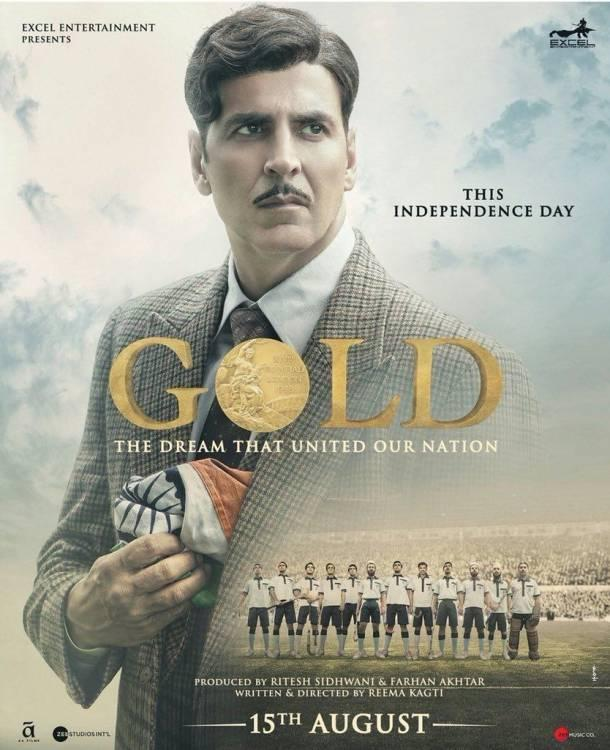 "Teaser of Akshay Kumar's Upcoming Film ""Gold"" Unveiled"