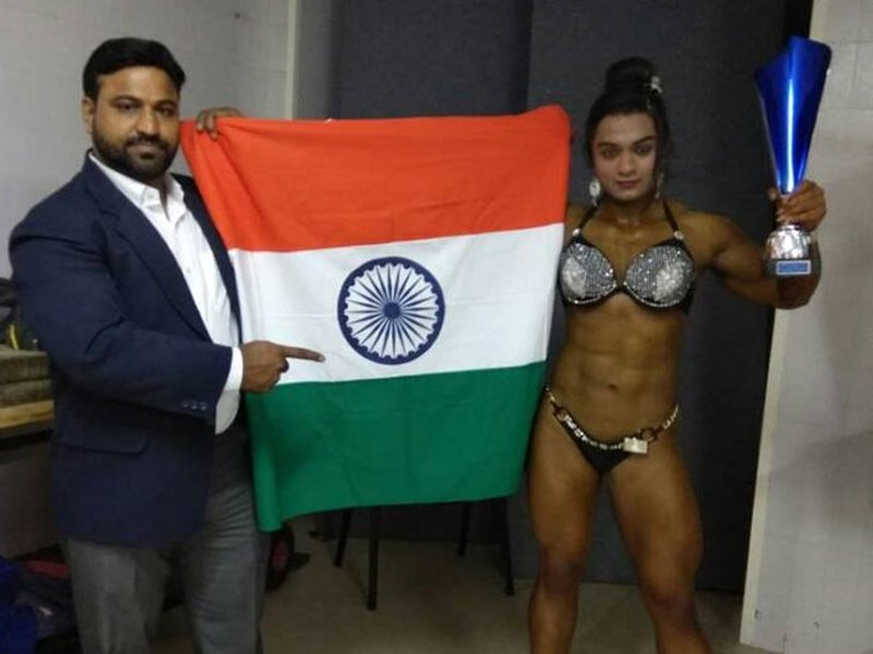 Indian Bodybuilder Bhumika Sharma Wins Miss World Bodybuilding Title in Venice