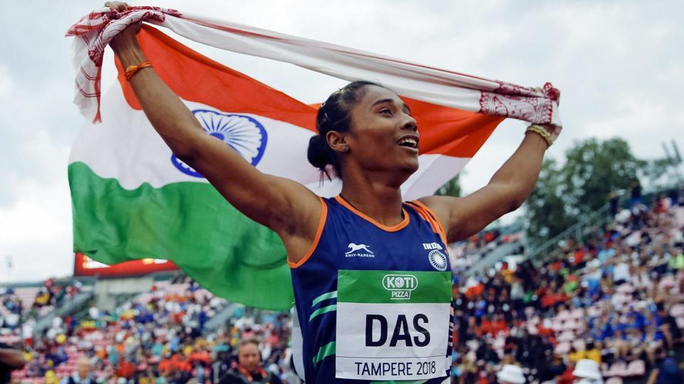 Hima Das Creates History | Wins Gold Medal in Women's 400m Event at IAAF World U-20 Athletics Championships
