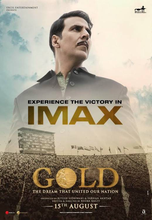 Gold IMAX Trailer | Akshay Kumar and Mouni Roy