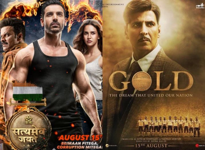 Gold and Satyameva Jayate Day 4 Box Office Early Estimates