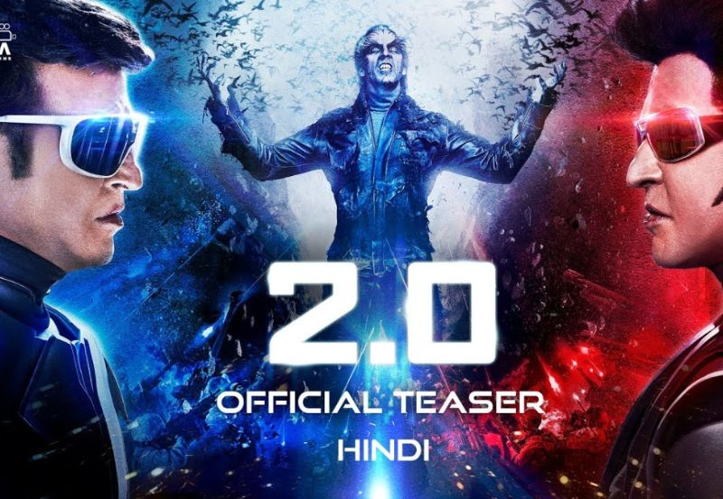 2.0 - Official Teaser [Hindi] | Rajinikanth and Akshay Kumar