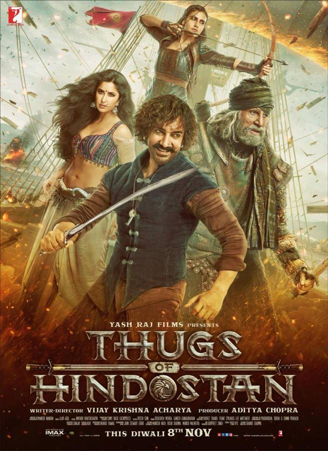 Thugs of Hindostan Official Trailer | Amitabh Bachchan, Aamir Khan and Katrina Kaif