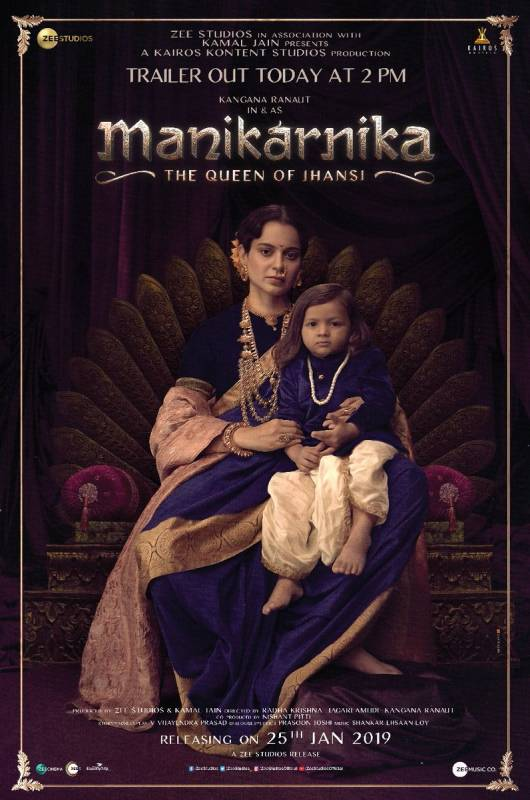 Manikarnika - The Queen Of Jhansi Official Trailer