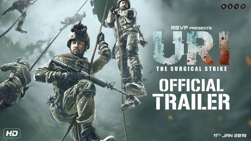 URI Official Trailer | Vicky Kaushal, Yami Gautam and Paresh Rawal