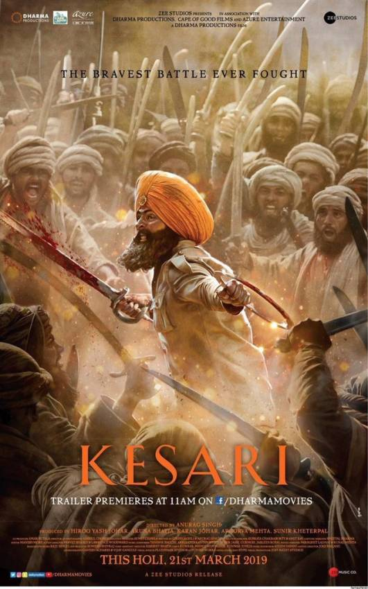 Kesari Official Trailer | Akshay Kumar and Parineeti Chopra