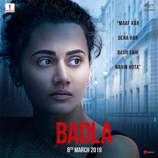 Badla Has Good Hold on Monday | Day 4 Box Office Collection