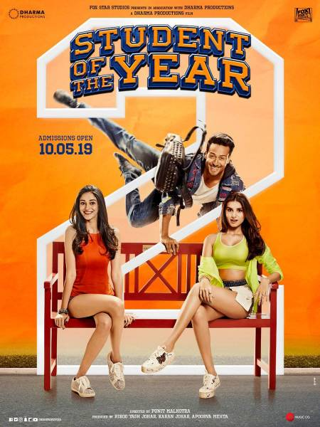 Student Of The Year 2 Official Trailer | Tiger Shroff, Tara Sutaria and Ananya Panday