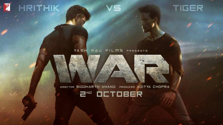 WAR OFFICIAL TEASER | HRITHIK ROSHAN VS TIGER SHROFF