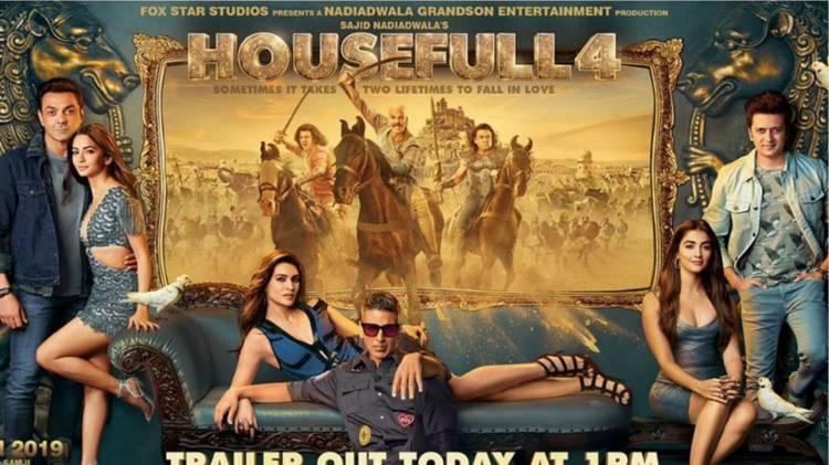 HOUSEFULL 4 OFFICIAL TRAILER | AKSHAY KUMAR, KRITI SANON AND RITEISH DESHMUKH
