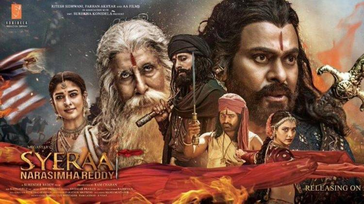 Sye Raa Narasimha Reddy Box Office Collection | Day-wise Net Earnings in India