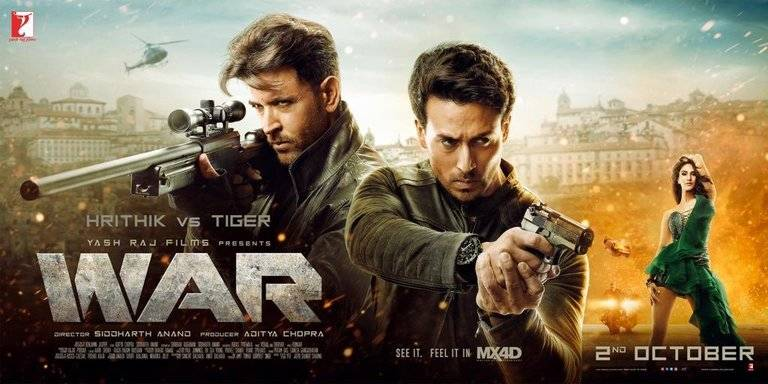 War Box Office Collection | Day-wise Net Earnings in India