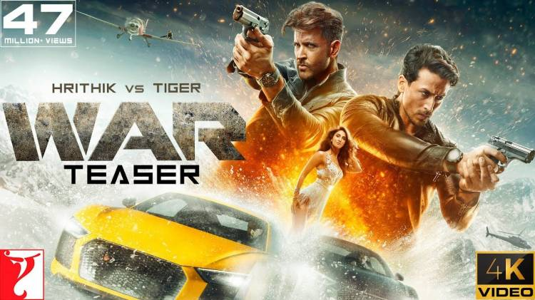 War Official Trailer | Hrithik Roshan, Tiger Shroff and Vaani Kapoor