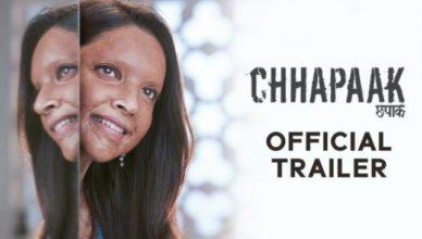 Chhapaak Official Trailer | Deepika Padukone and Vikrant Massey