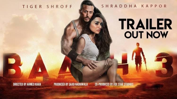 Baaghi 3 Official Trailer | Tiger Shroff, Riteish Deshmukh and Shraddha Kapoor